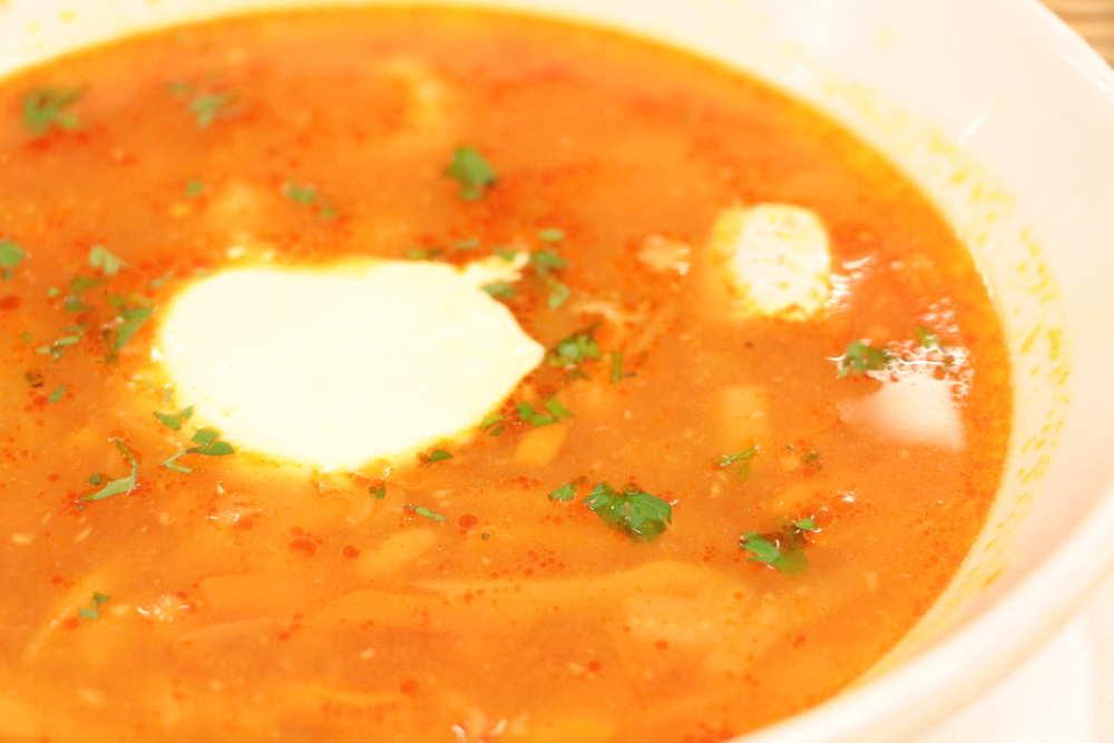 スープ専門店のソッパケイッティオのシーフードスープ