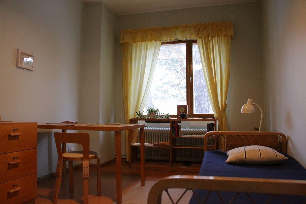 アルヴァ・アールト自宅の寝室
