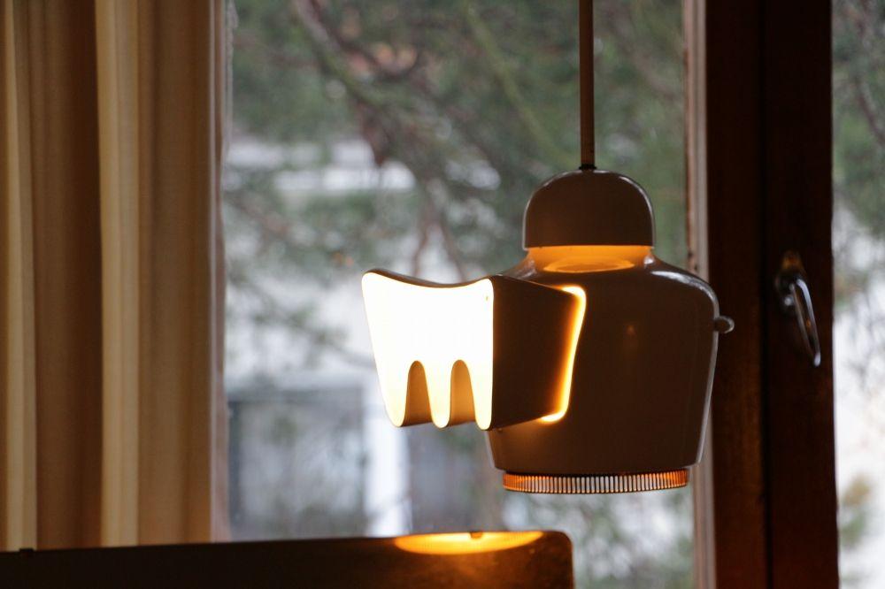アルヴァ・アールト自宅のデザインライト