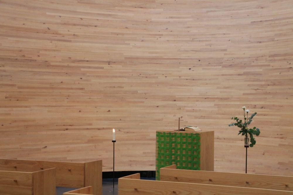 カンッピ静粛の礼拝堂教壇