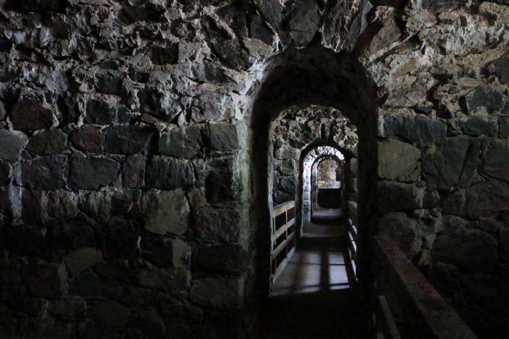 スオメンリンナの城内部