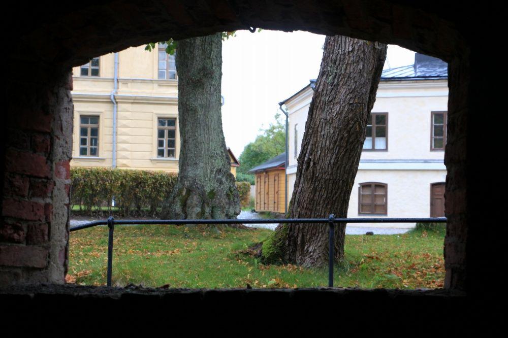スオメンリンナの城の窓2