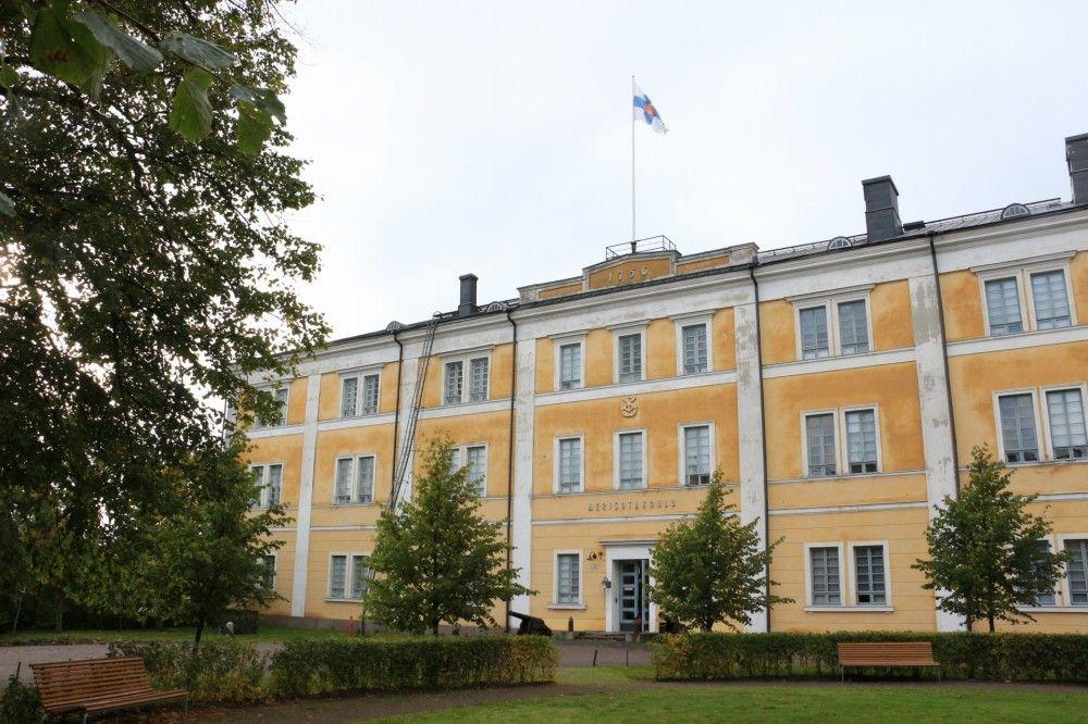 スオメンリンナにある海戦学校