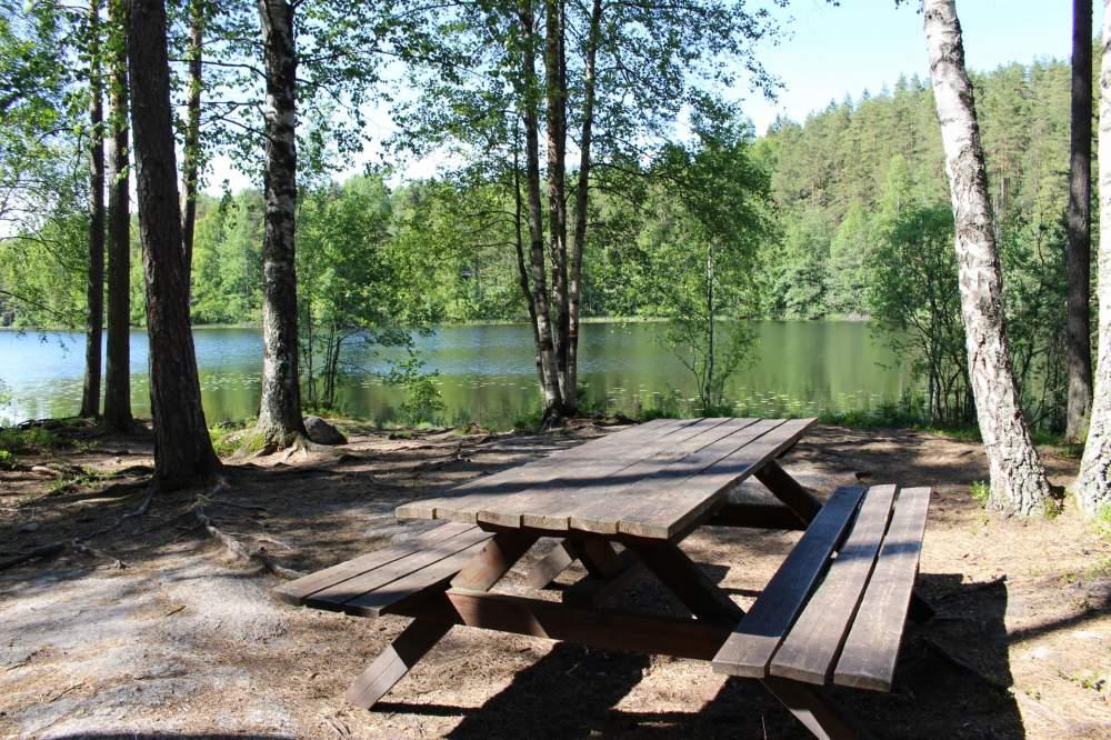 ヌークシオ国立公園の気持ちよさそうな休憩場所