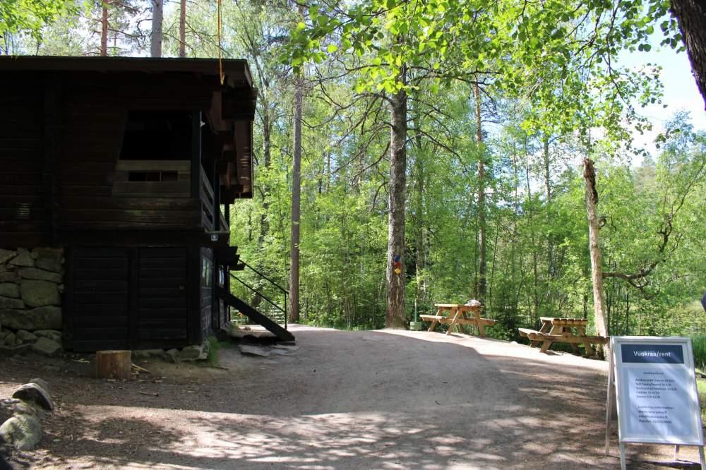 ヌークシオ国立公園の案内所エリア