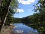 ヌークシオ国立公園の湖と絶景