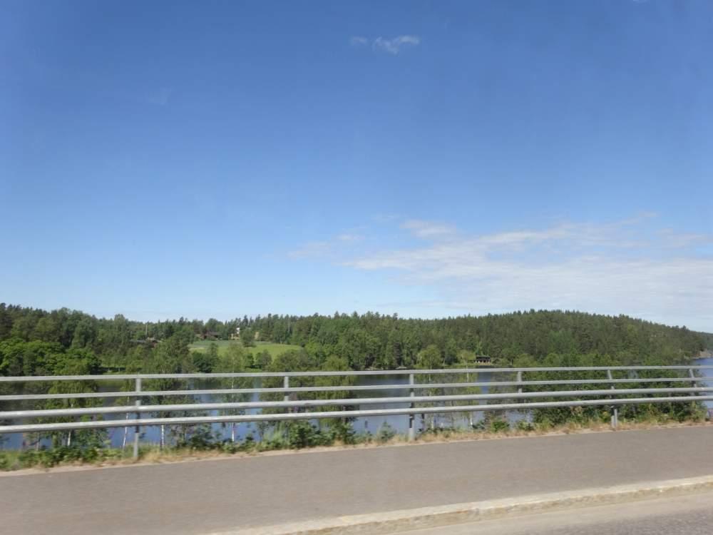 ヌークシオ国立公園までの車窓風景