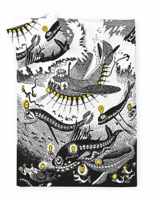 フィンレイソン掛け布団枕カバーセット新海のオーケストラ号ムーミンパパの思い出 2017全体画像