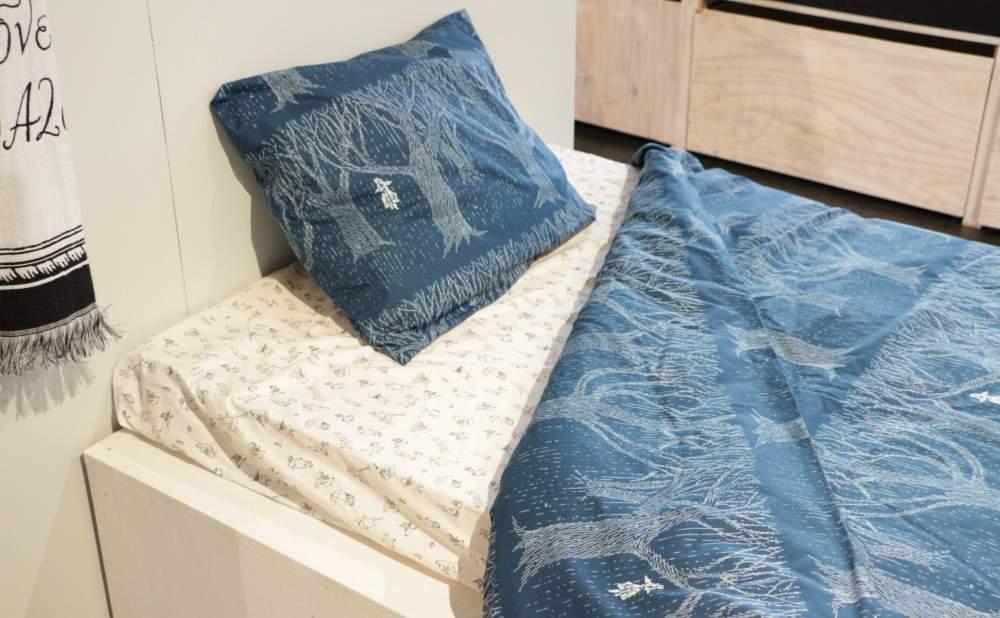 フィンレイソン掛け布団枕カバーセットレイニーデイスナフキン2017枕と布団の画像