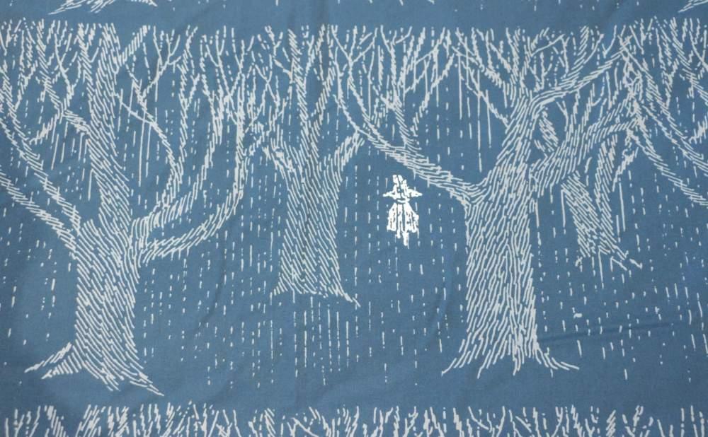 フィンレイソン掛け布団枕カバーセットレイニーデイスナフキン2017森とスナフキン細部画像