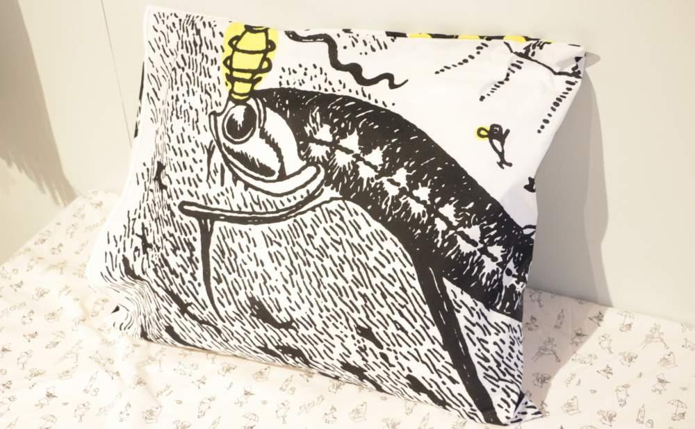 フィンレイソン掛け布団枕カバーセット新海のオーケストラ号ムーミンパパの思い出 2017枕画像