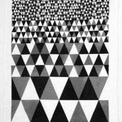 キッチンタオルMore Joyホリソントブラックの全体写真