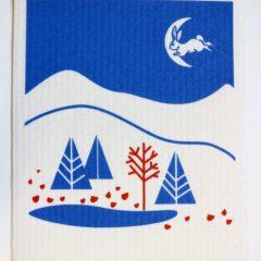 スポンジワイプMore Joy日フィン国交100周年記念ランドスケープオブフレンドシップ全体写真