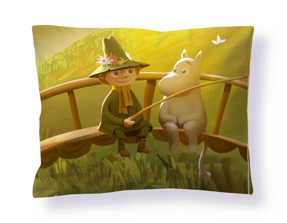 フィンレイソン掛け布団枕カバーセット:ムーミン谷のなかまたち(春)2019枕画像