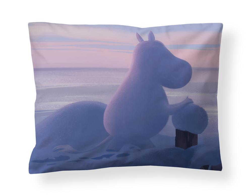 フィンレイソン掛け布団枕カバーセット:ムーミン谷のなかまたち(冬)2019枕画像