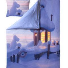 フィンレイソン掛け布団枕カバーセット:ムーミン谷のなかまたち(冬)2019全体画像