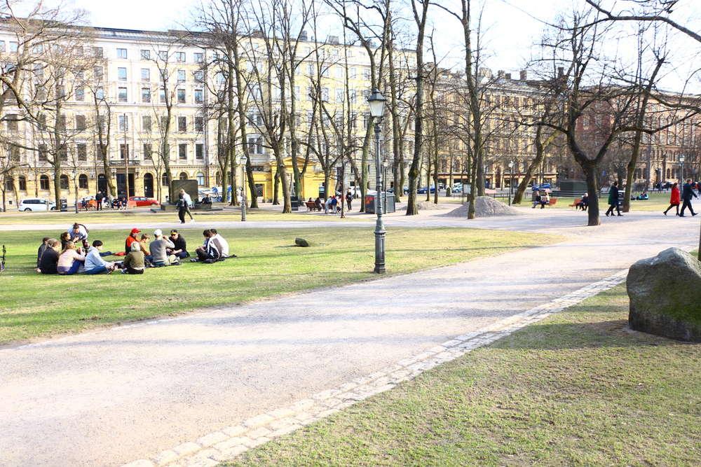 ヘルシンキオールド教会Vanha kirkko公園