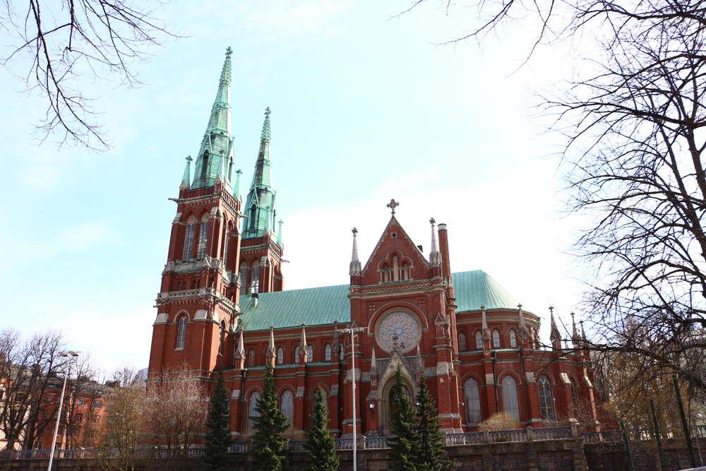 セントヨハネス教会ヘルシンキのランドマーク