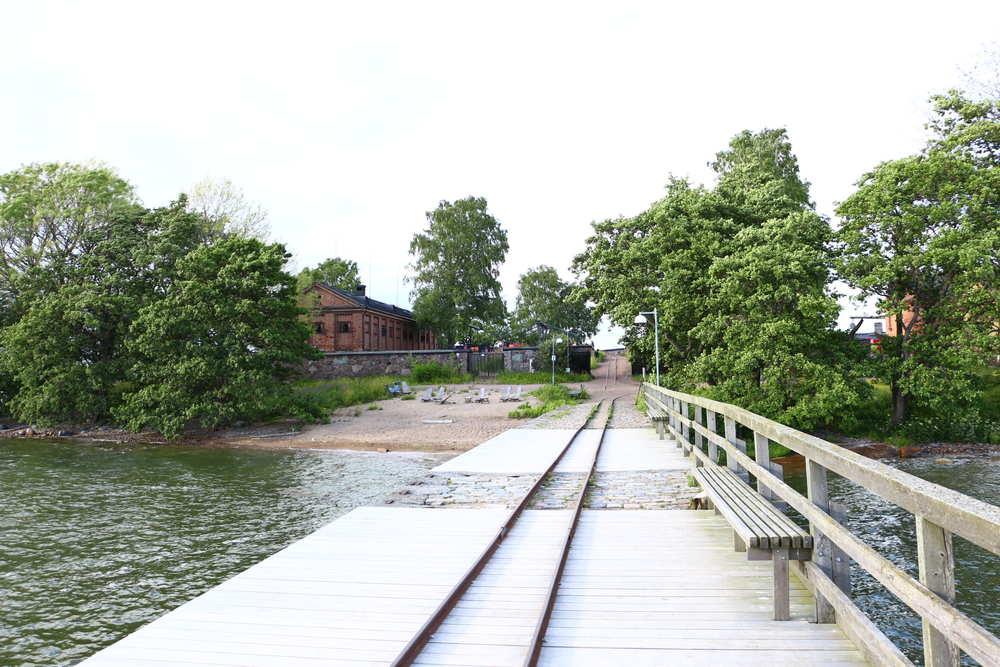ヘルシンキロンナ島入り口