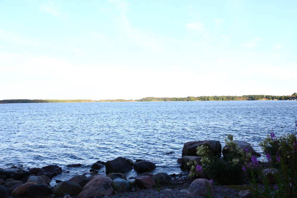 ロンナ島サウナから見れる景色