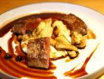 ヘルシンキレストランRavintola Kuuのトナカイステーキ