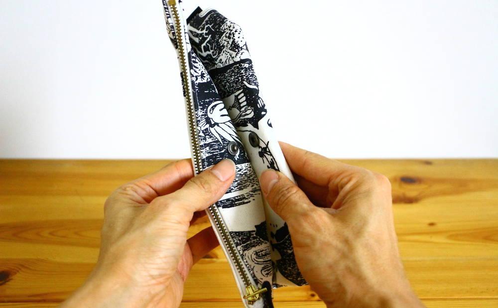 フィンレイソンムーミンポーチ(大)折り畳む画像