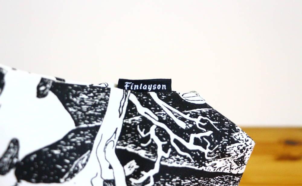 フィンレイソンムーミンポーチ(大)ロゴ画像
