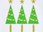 スポンジワイプMore Joyブローズンクリスマスツリー全体写真