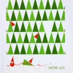 スポンジワイプMore Joyストールンクリスマスツリーの全体写真