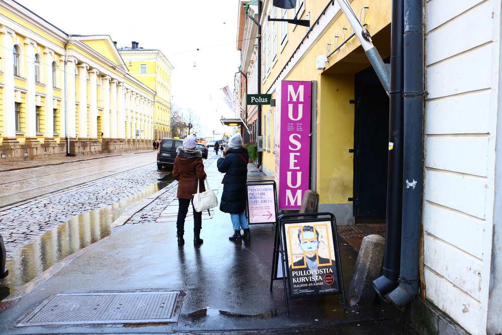 ヘルシンキ市立博物館の入り口