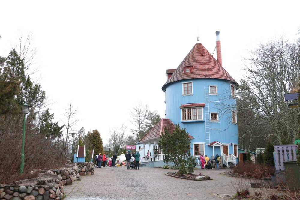 ムーミンワールドの中心であるムーミン屋敷