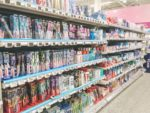 フィンランドの歯磨きケア用品売り場