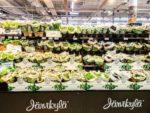 フィンランドのスーパーマーケット・バーブ売り場