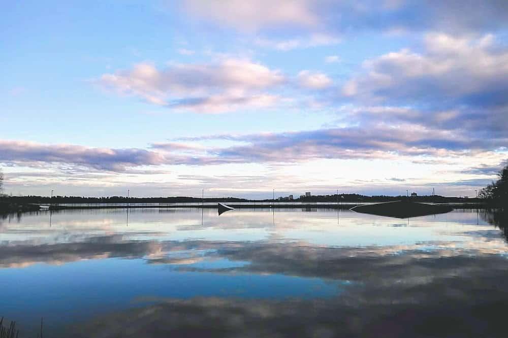 ヘルシンキ散歩の海景色