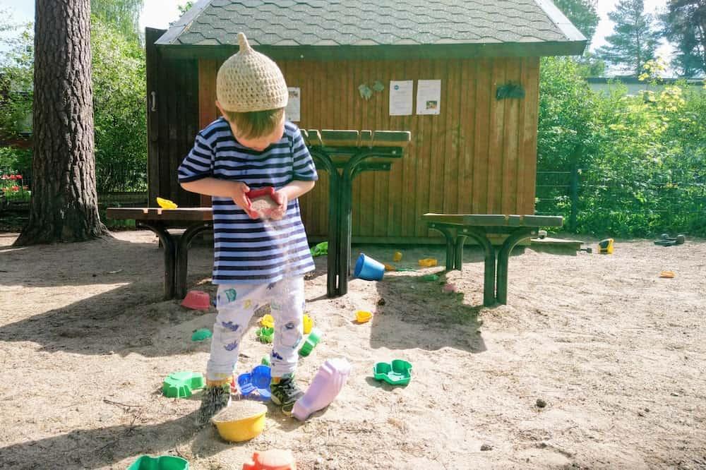 フィンランド育児生活・公園にて